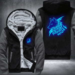 WOLVES FLEECE JACKET - BEST SELLER